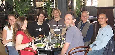 Out to lunch May 2006